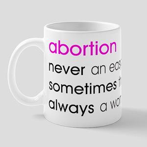 Abortion Choice Mug