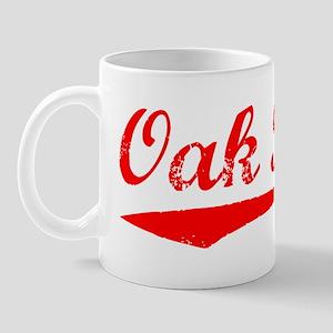 Vintage Oak Park (Red) Mug