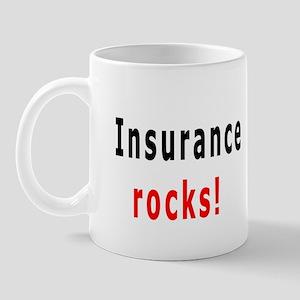 Insurance Is Fun, Mug, Insurance rocks!