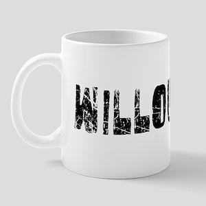 Willoughby Faded (Black) Mug