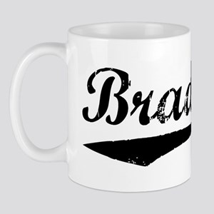 Vintage Bradford (Black) Mug