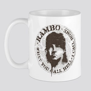 Rambo Call This Hell Mug