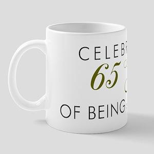 Celebrating 65 Years Mug