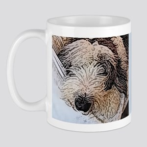 Sheepdog Art Mug