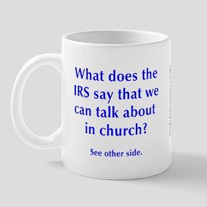 in church Mug