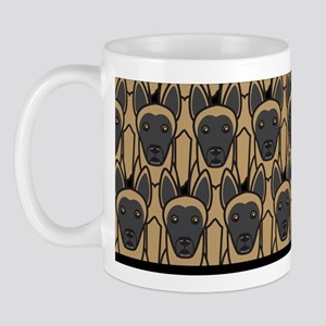 Bunch of Belgian Malinois Mug
