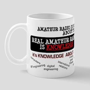 Amateur Radio is Knowledge Mug