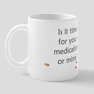 Medication Time Mug