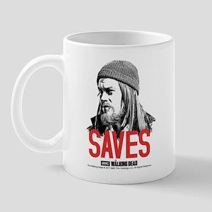 Jesus Saves 11 Oz Ceramic Mug Mugs