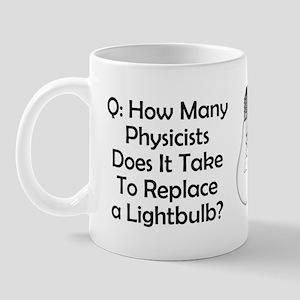 Physicists Riddle Mug