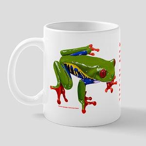 Red-eyed Leaf Frog Mug