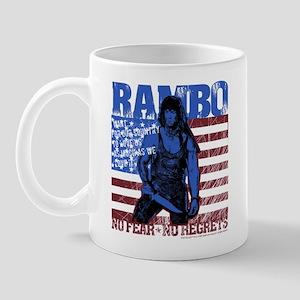 Rambo No Fear Mug