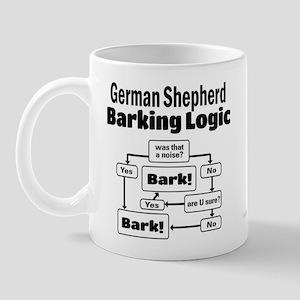 German Shepherd Logic Mug