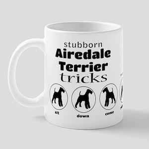 Airedale Tricks Mug