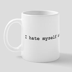 I hate myself and want to die Mug