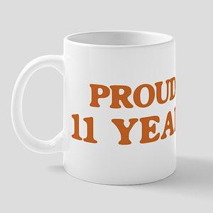 Proud to be 11 Years Old Mug