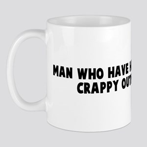 Man who have head up ass have Mug