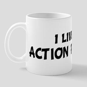 Live For ACTION FIGURES Mug