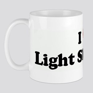 I Love Light Skin Boys Mug