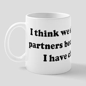 I think we should be lab part Mug