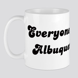 Loves Albuquerque Girl Mug