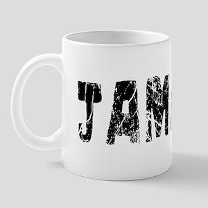Jamaica Faded (Black) Mug