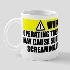2-Operating Warning Mug