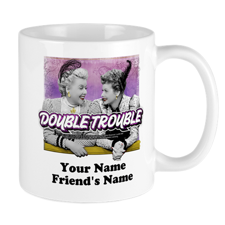 I Love Lucy Double Trouble Personalized