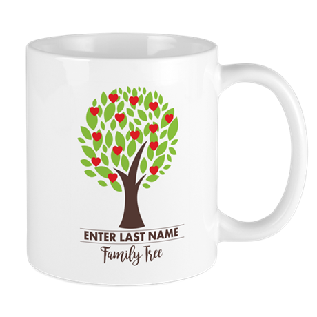 Personalisable Family Tree Mug