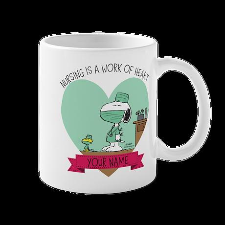 Snoopy Nursing - Personalized Mug
