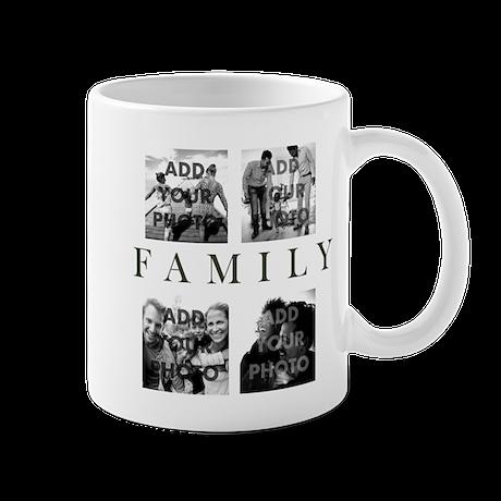 Family Personalized 11 oz Ceramic Mug