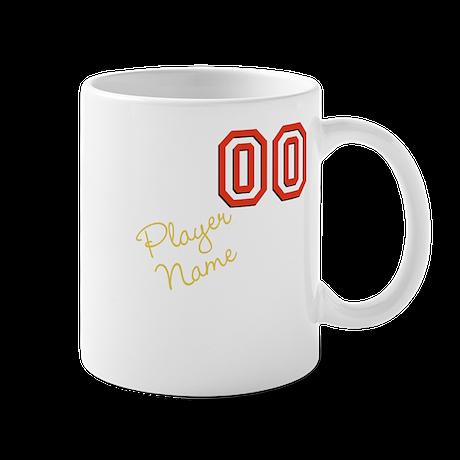 Name & Number Mug