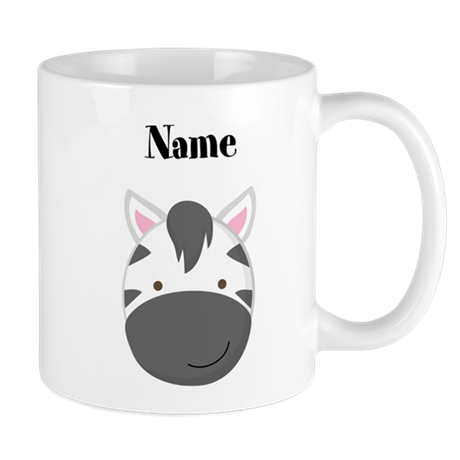 Personalized Zebra Mug