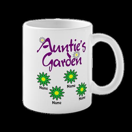 Aunties Garden 4 Mugs