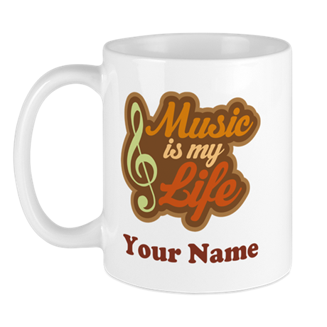 Custom Musical Quote Mug