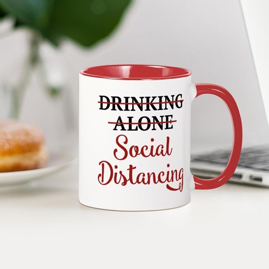 Drinking Alone Social Distancing