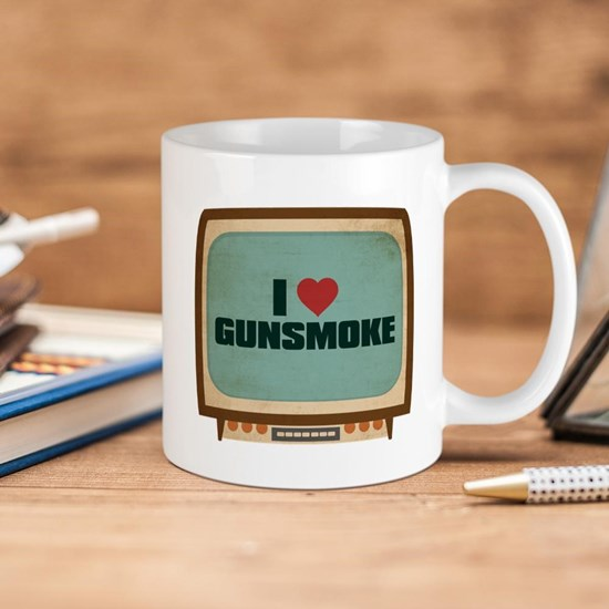 Retro I Heart Gunsmoke