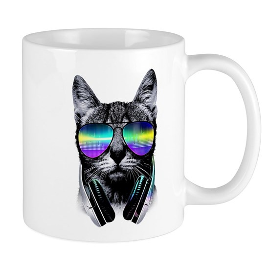 Cat Glasses T Shirt
