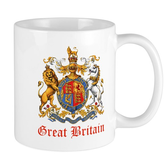 Great Britain Coat of Amrs Heraldry_Red
