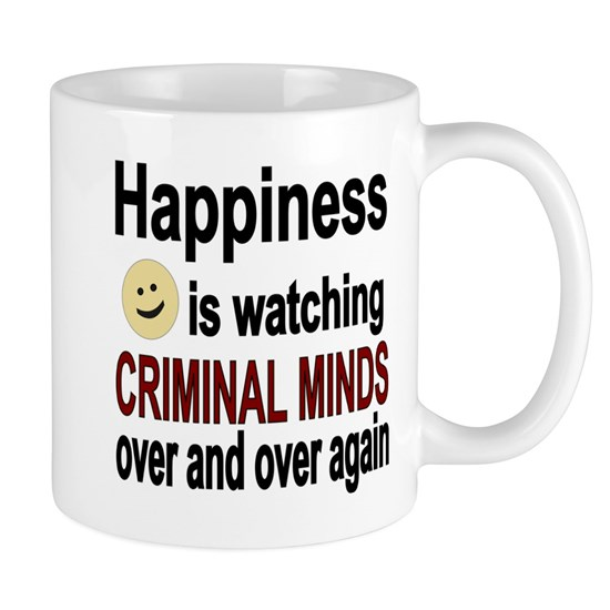 Happiness is watching CRIMINAL MINDS