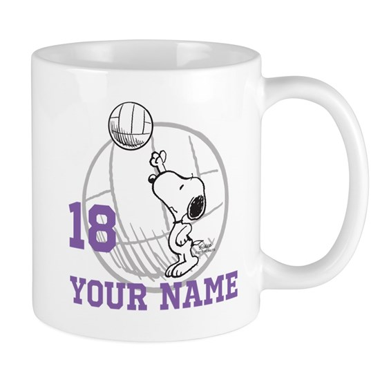 Snoopy Volleyball Personalized