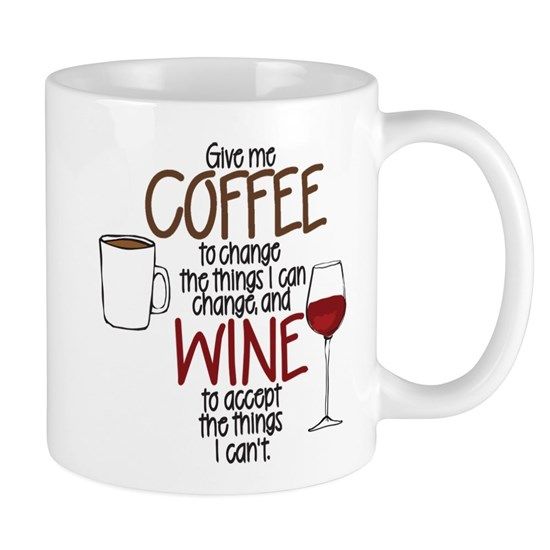 Give Me Coffee To Change The Things I Can 11 Oz Ceramic Mug Give Me Coffee To Change The Things I Can Stainles By Madeulaugh Cafepress