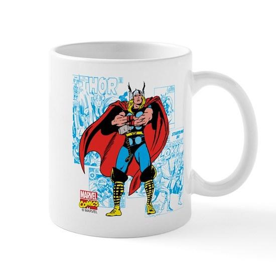 Marvel Comics Thor 11 Oz Ceramic Mug Marvel Comics Thor Mug By Marvel Cafepress