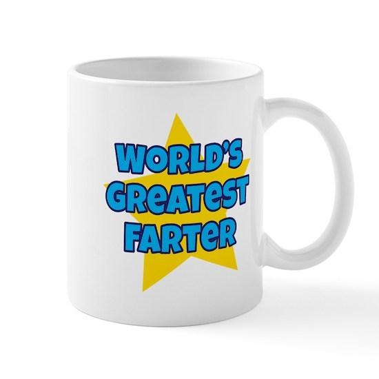 Cafepress World's Greatest Farter Mug with yellow star