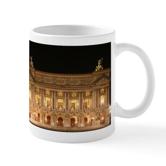 Paris Opéra Palais Garnier 11 Oz Ceramic Mug Paris Opéra Palais Garnier Mug By Adrianssouvenirs Cafepress