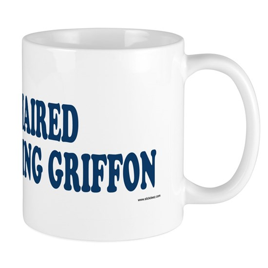 WIREHAIRED POINTING GRIFFON_Blue 11 oz Ceramic Mug ...