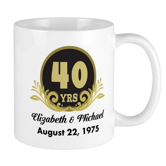 40th Anniversary Personalized Gift Idea