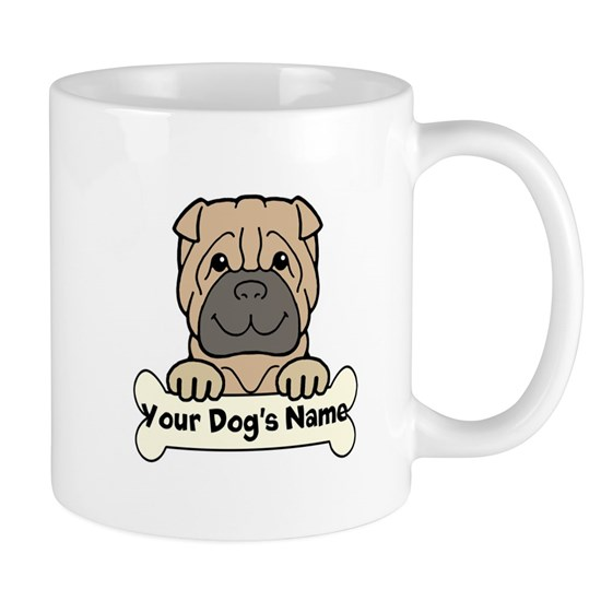 Personalized Shar-Pei