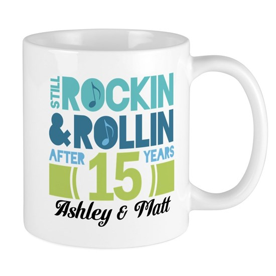 15th Anniversary Funny Personalized Gift