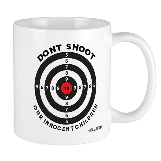Don't Shoot Children Bullseye
